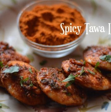 Spicy Tawa Idli|Street Style Tawa Idli using Podi