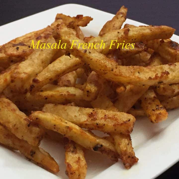 Crispy Masala French Fries Recipe|Potato French Fries