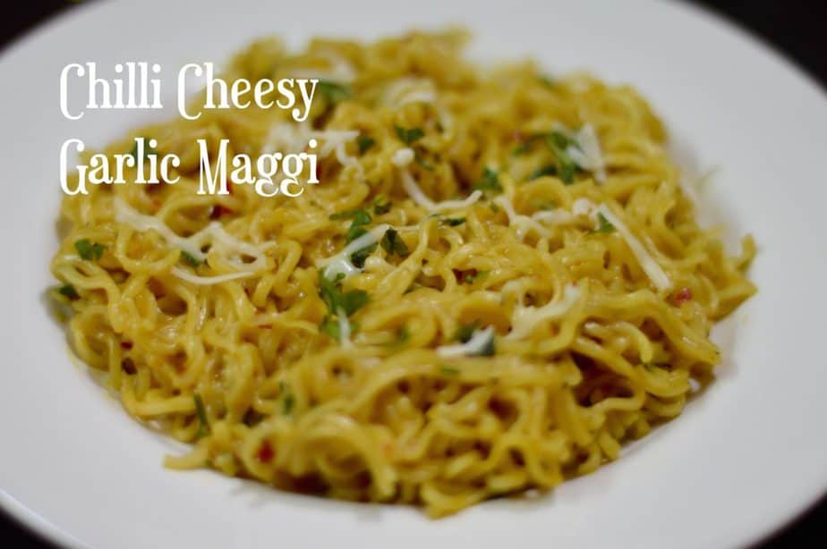 Chilli Cheese Garlic Maggi is a classic twist to your regular Maggi with few more ingredients easily available in your refrigerator.