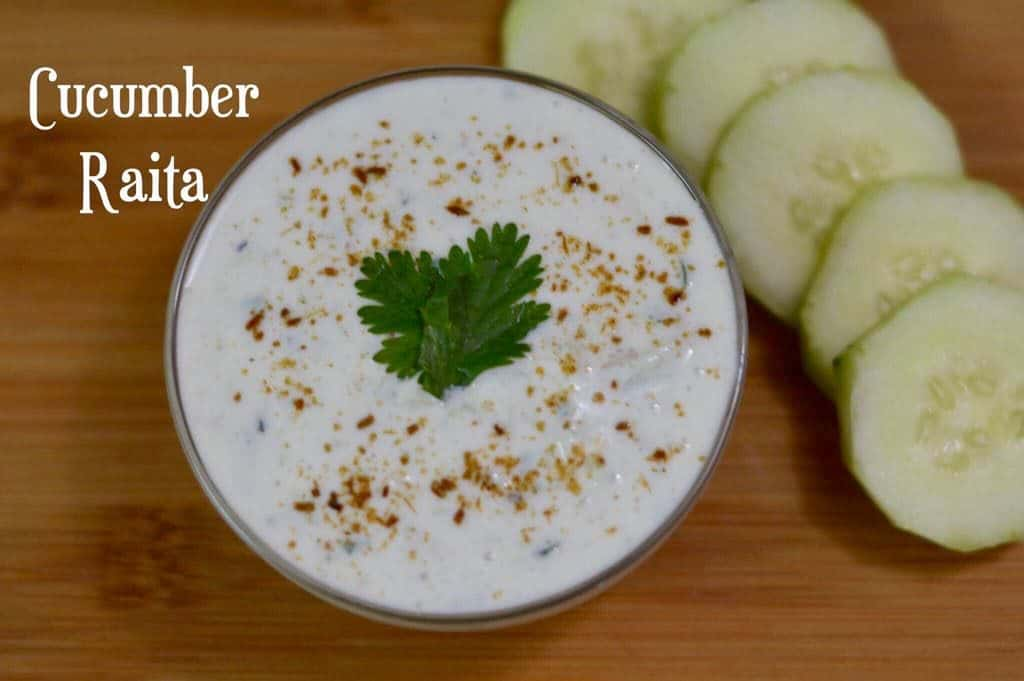 Cucumber Raita|Easy Raita Recipes|Kheera Raita