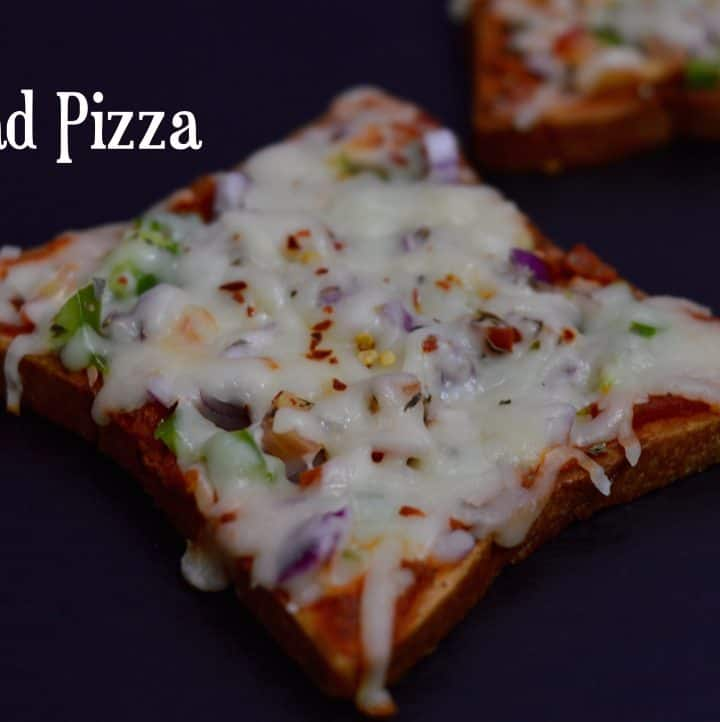 Bread Pizza without Oven|Tawa Bread Pizza