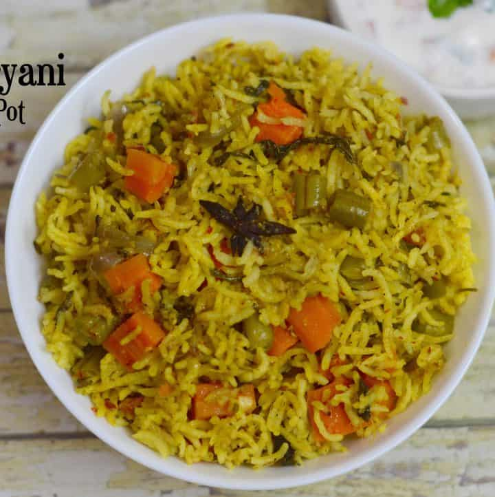 Instant Pot Veg Biryani|South Indian Biryani Recipe