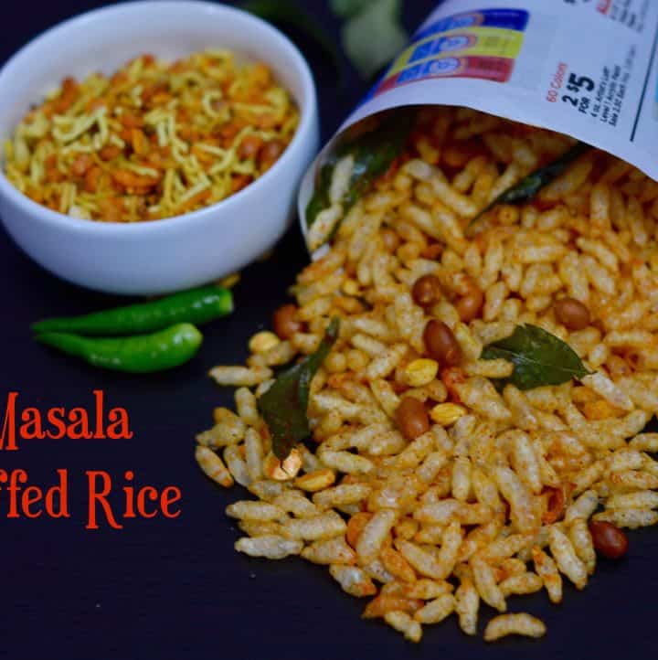 Masala Puffed Rice|Spicy Garlic Puffed Rice