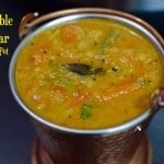 Vegetable Sambar Instant Pot