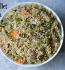 Little Millet Upma|Samai Upma|Millet Recipes + Video