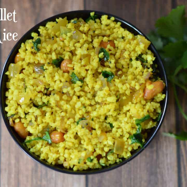 Little Millet Lemon Rice|Samai Lemon Rice