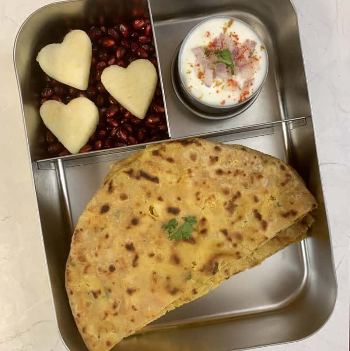 lunchboxidea23 channa paratha