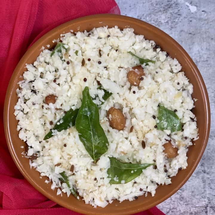 cauliflower coconut rice