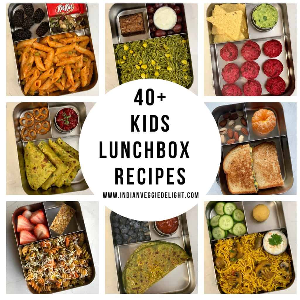Healthy Kids Lunch Box Recipes