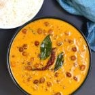 Kerala Kadala Curry(Brown Chickpeas in Coconut Curry)