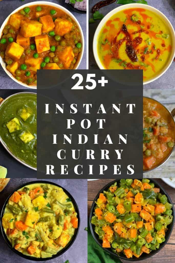 instant pot indian curry recipes collection