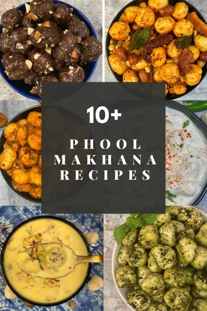 Indian phool Makhana Recipes