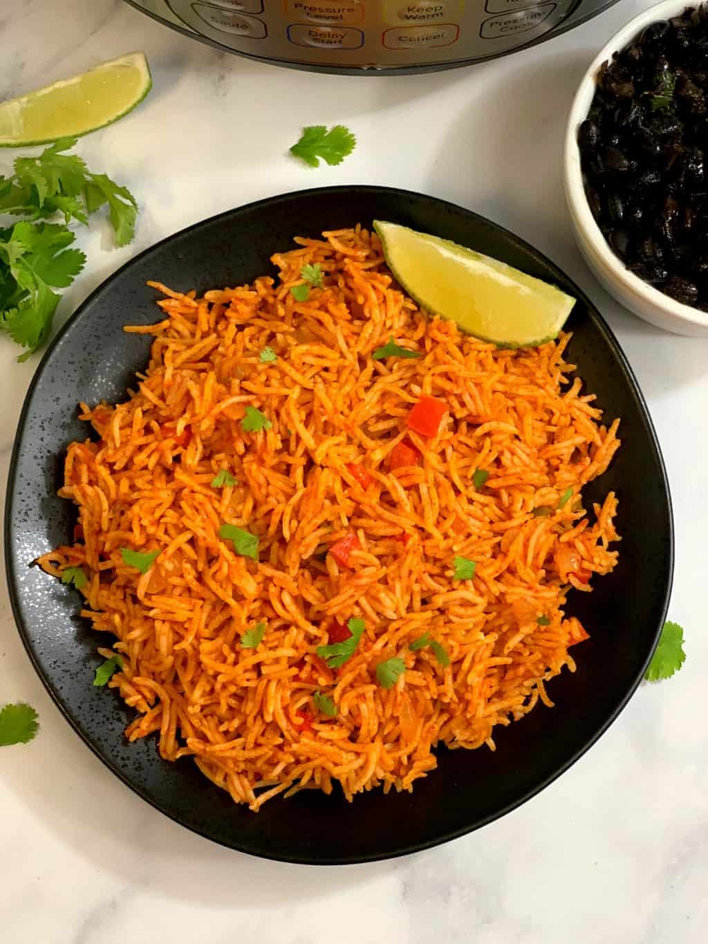 Instant Pot Mexican Rice Recipe Indian Veggie Delight