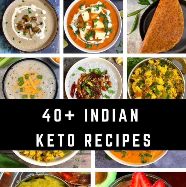 Keto/low carb Indian recipes
